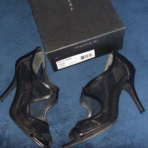 Black Tahari Ta-Lynn heels